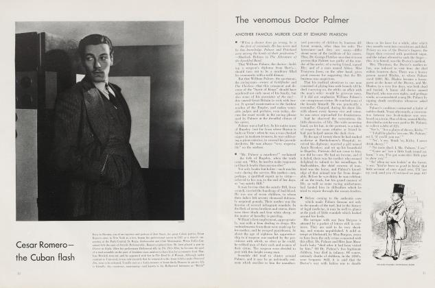 Article Preview: The venomous Doctor Palmer, September 1935 | Vanity Fair