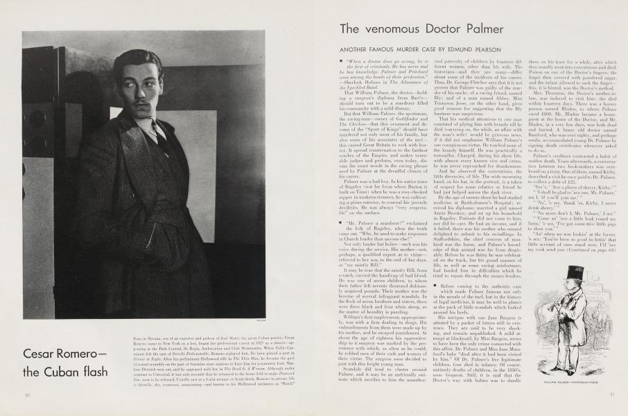 The venomous Doctor Palmer