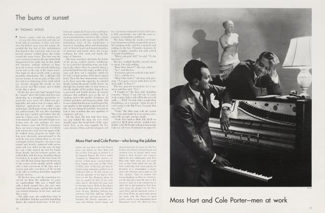 Article Preview: Moss Hart and Cole Porter—who bring the jubilee, October 1935 1935 | Vanity Fair