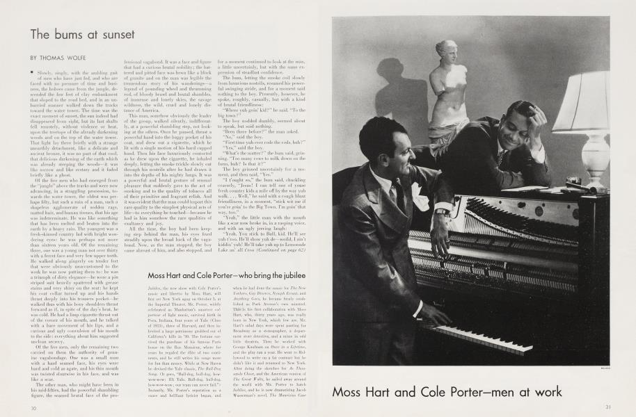 Moss Hart and Cole Porter—who bring the jubilee