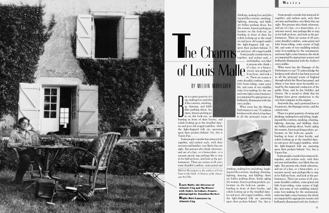 Article Preview: The Charms of Louis Malle, January 1982 1982 | Vanity Fair
