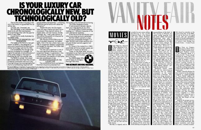 Article Preview: MOVIES, March 1983 1983   Vanity Fair
