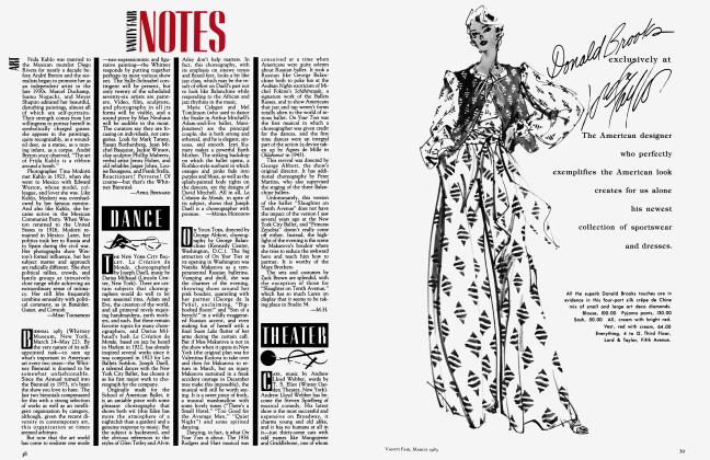 Article Preview: THEATER, March 1983 1983 | Vanity Fair
