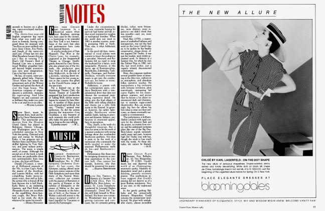 Article Preview: MUSIC, March 1983 1983 | Vanity Fair