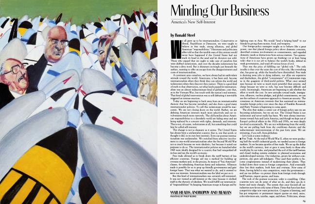 Article Preview: Minding Our Business, March 1983 | Vanity Fair