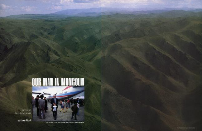 Article Preview: OUR MAN IN MONGOLIA, March 1983 | Vanity Fair