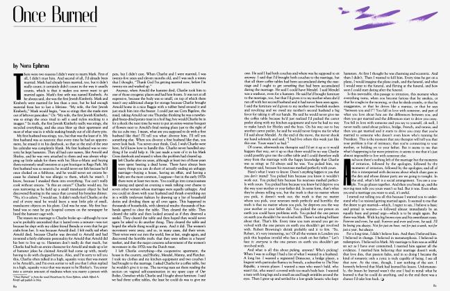 Article Preview: Once Burned, March 1983 1983 | Vanity Fair