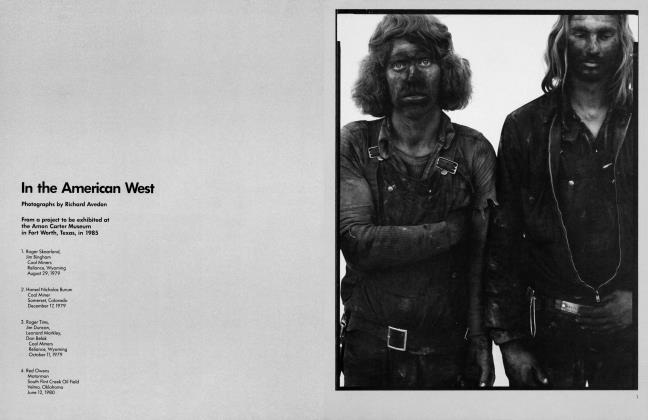 Article Preview: In the American West, March 1983 1983 | Vanity Fair