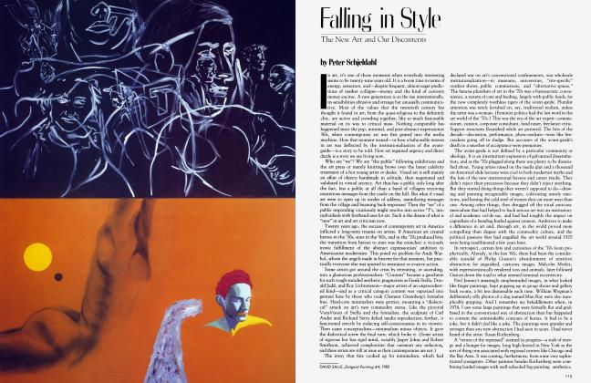 Article Preview: Falling in Style, March 1983 | Vanity Fair