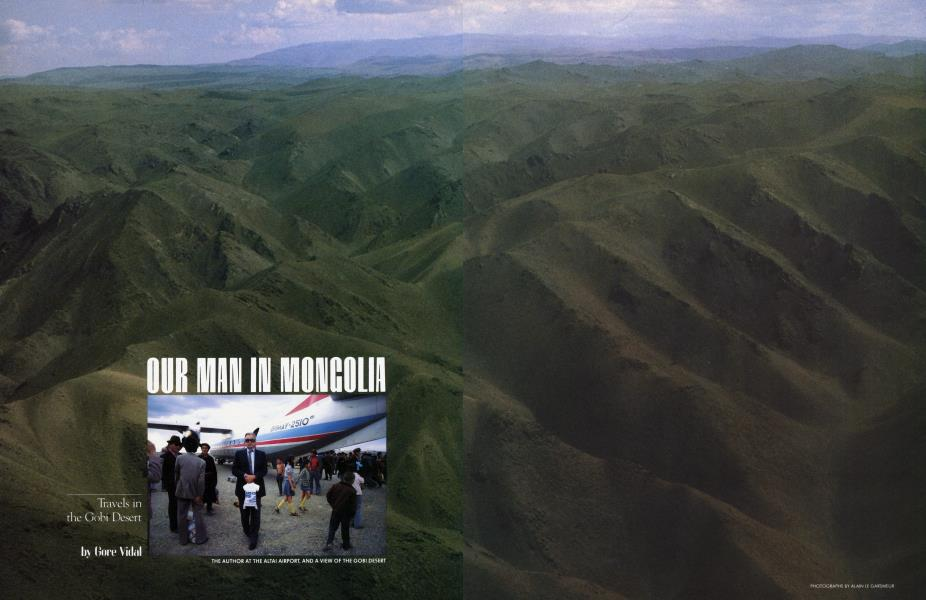 OUR MAN IN MONGOLIA
