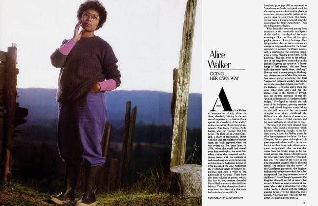 Article Preview: Alice Walker, April 1983 1983 | Vanity Fair