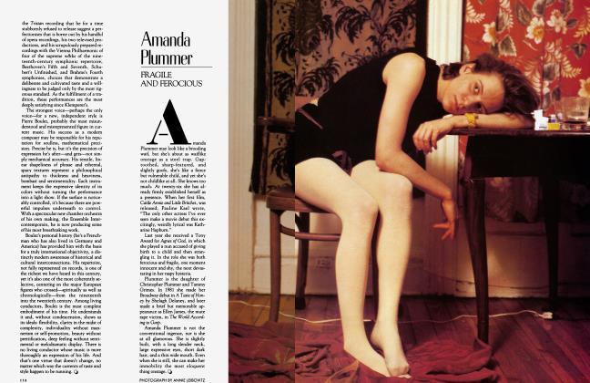 Article Preview: Amanda Plummer, April 1983 1983 | Vanity Fair