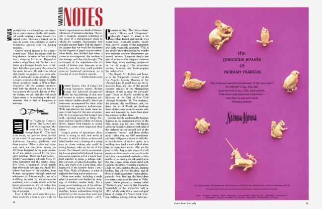 Article Preview: ART, May 1983 1983 | Vanity Fair