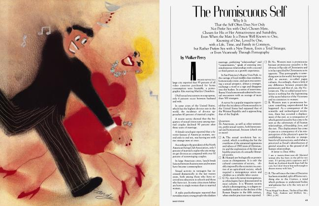 Article Preview: The Promiscuous Self, May 1983 | Vanity Fair
