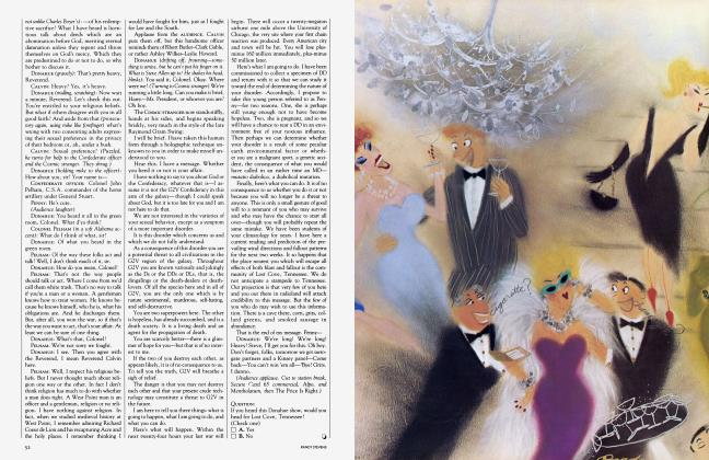 Article Preview: The Censor, the Angel and the Ax, May 1983 | Vanity Fair