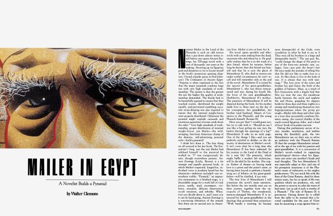 Article Preview: MAILER IN EGYPT, May 1983 | Vanity Fair