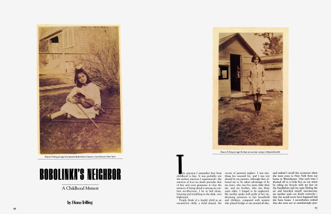 Article Preview: BOBOLINKA'S NEIGHBOR, May 1983 | Vanity Fair