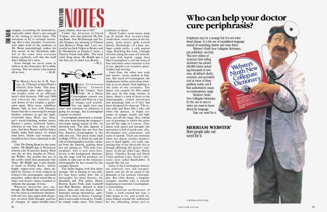 Article Preview: DANCE, June 1983 1983   Vanity Fair