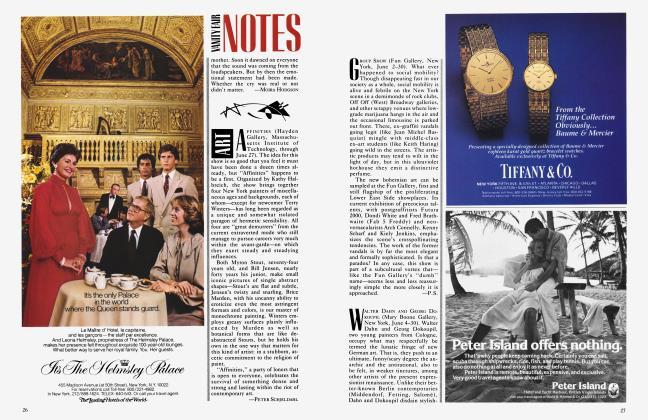 Article Preview: ART, June 1983 1983 | Vanity Fair