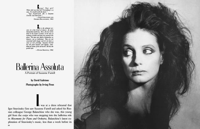 Article Preview: Ballerina Assoluta, June 1983 | Vanity Fair
