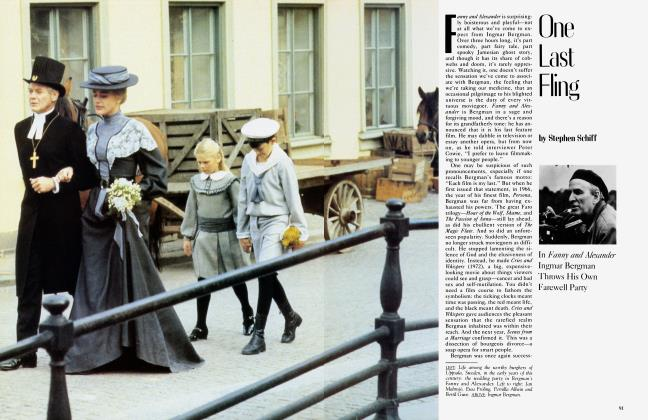 Article Preview: One Last Fling, June 1983 1983 | Vanity Fair