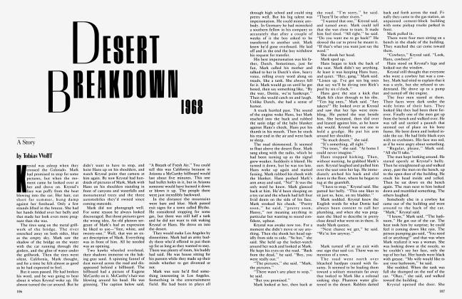 DESERT BREAKDOWN 1968