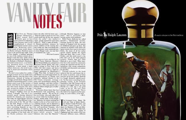 Article Preview: BOOKS, June 1983 1983 | Vanity Fair