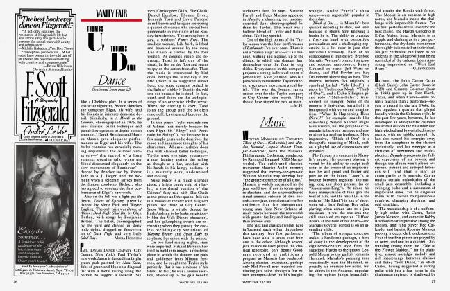 Article Preview: Music, July 1983 1983 | Vanity Fair
