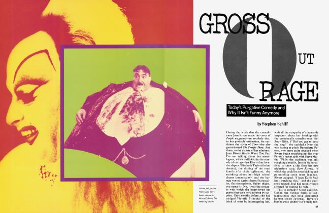 Article Preview: GROSS OUT RAGE, July 1983 1983 | Vanity Fair