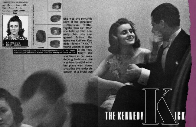 Article Preview: THE KENNEDY KICK, July 1983 | Vanity Fair