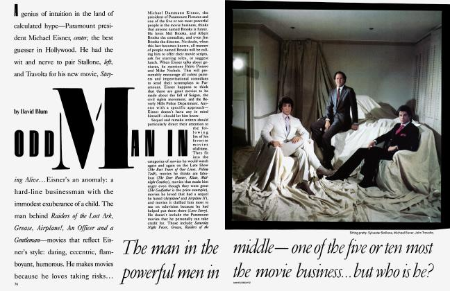 Article Preview: ODD MAN IN, July 1983 | Vanity Fair