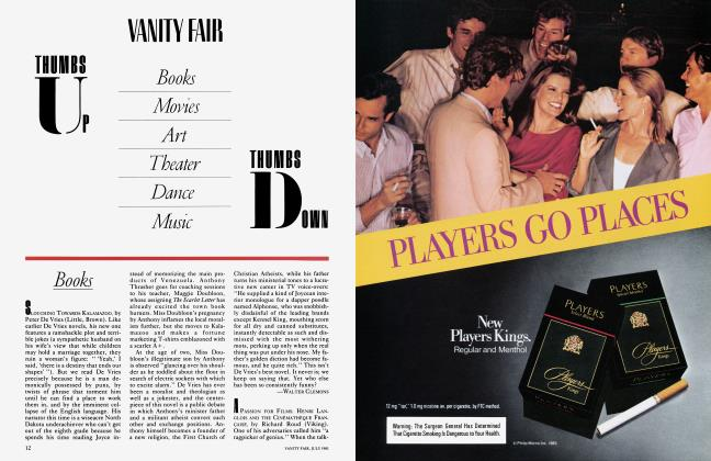 Article Preview: Books, July 1983 1983 | Vanity Fair