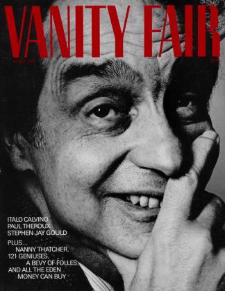 August 1983 | Vanity Fair