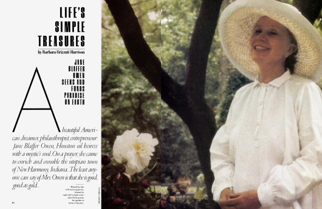 Article Preview: LIFE'S SIMPLE TREASURES, August 1983 | Vanity Fair