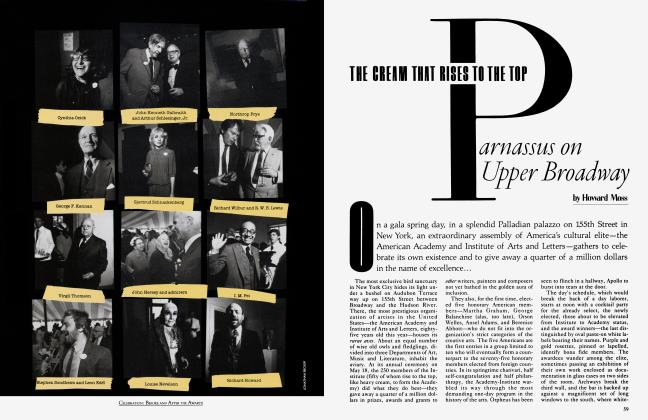 Article Preview: THE CREAM THAT RISES TO THE TOP Parnassus on Upper Broadway, August 1983 | Vanity Fair