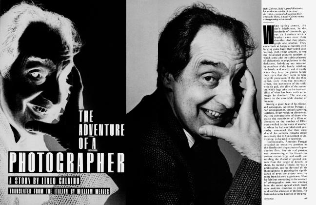 Article Preview: THE ADVENTURE OF A PHOTOGRAPHER, August 1983 1983 | Vanity Fair