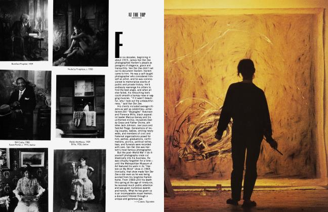 Article Preview: PUTTING PAINTING BACK ON ITS FEET, August 1983 | Vanity Fair