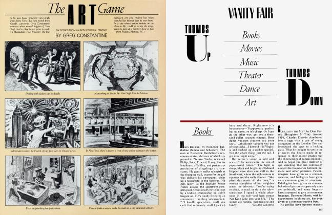 Article Preview: Books, August 1983 1983 | Vanity Fair