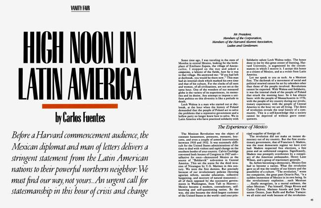 Article Preview: HIGH NOON IN LATIN AMERICA, September 1983 | Vanity Fair