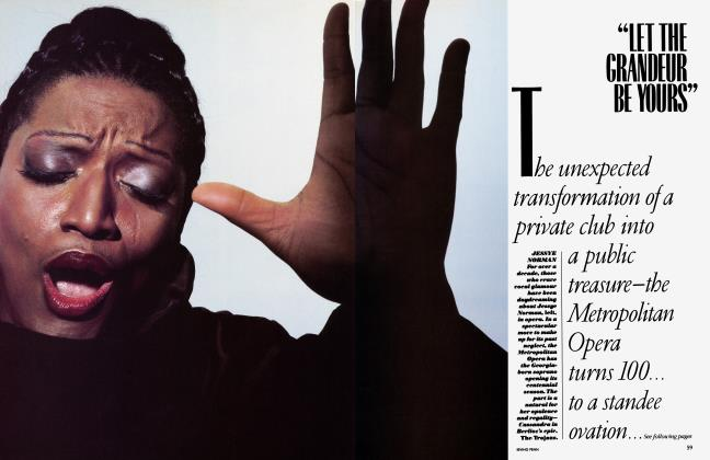"Article Preview: ""LET THE GRANDEUR BE YOURS"", September 1983 | Vanity Fair"