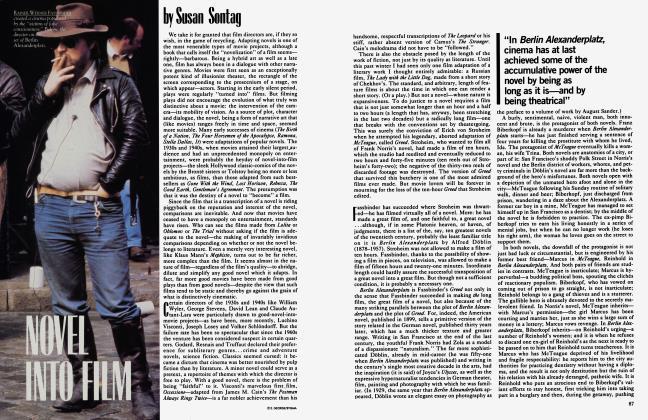 Article Preview: NOVEL INTO FILM, September 1983 | Vanity Fair
