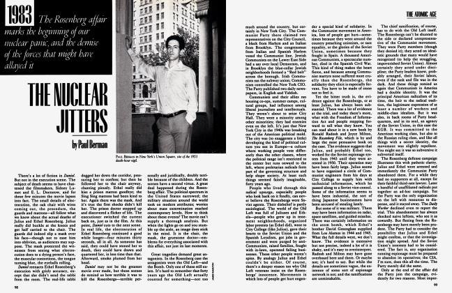 Article Preview: THE NUCLEAR JITTERS, September 1983 | Vanity Fair
