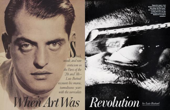Article Preview: When Art Was Revolution, September 1983 | Vanity Fair