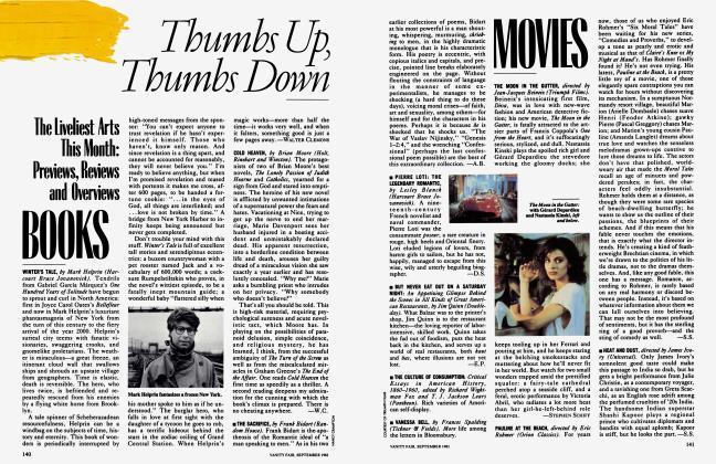 Article Preview: MOVIES, September 1983 1983 | Vanity Fair