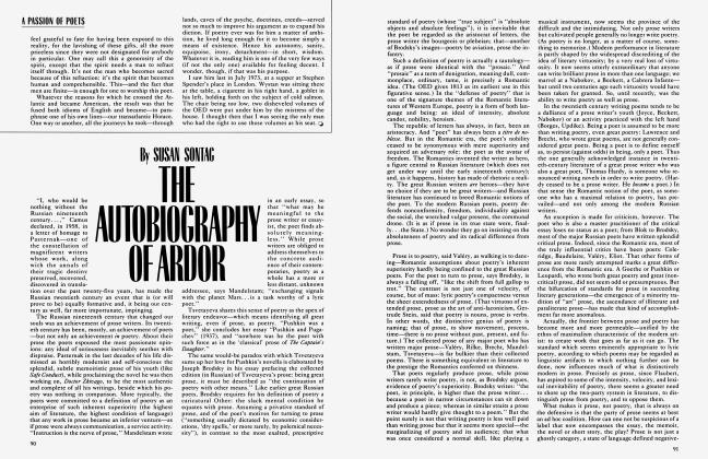 Article Preview: THE AUTOBIOGRAPHY OF ARDOR, October 1983 | Vanity Fair