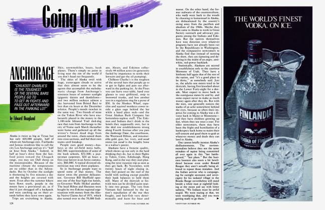 Article Preview: ANCHORAGE, October 1983 1983 | Vanity Fair
