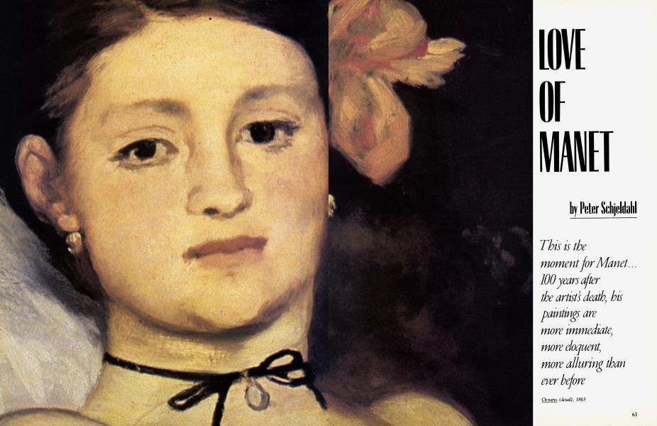 LOVE OF MANET