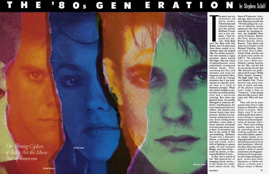 THE '80s GENARATION