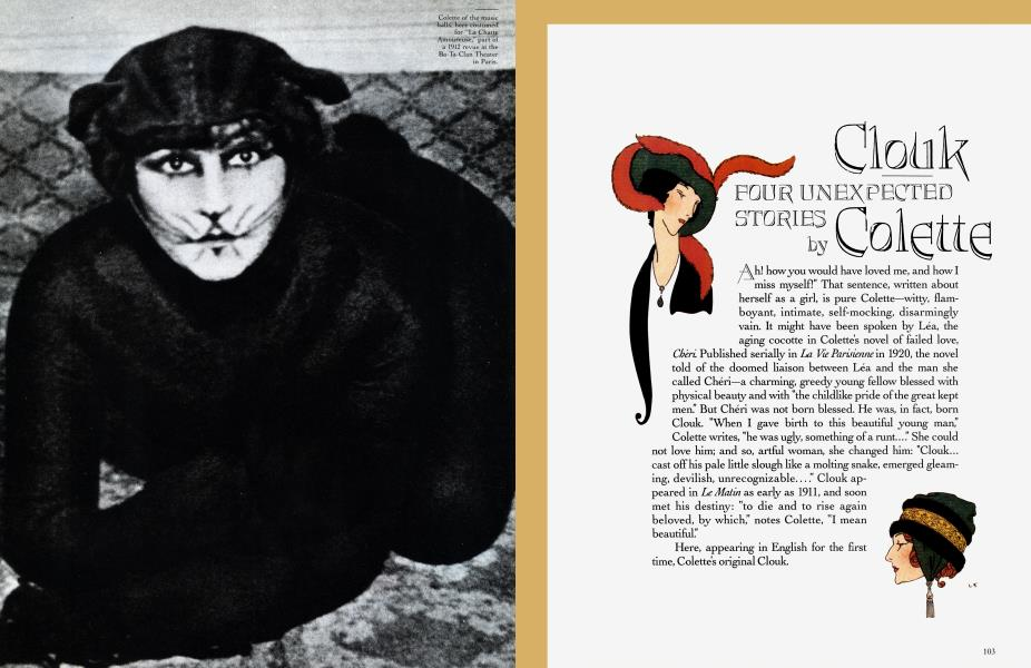Clouk FOUR UNEXPECTED STORIES by Colette