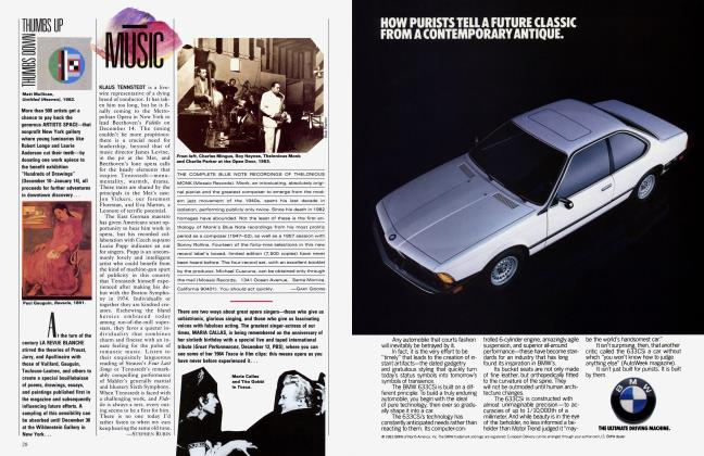 Article Preview: MUSIC, December 1983 1983 | Vanity Fair